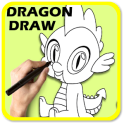 How to Draw Dragon for Kids