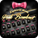 Pink Bowknot Keyboard Theme