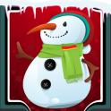 Snowman Photo Collage
