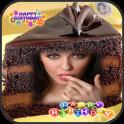 Chocolate Cake Photo Frames