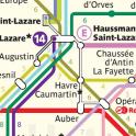 Metro Map: Paris (Offline)