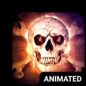 Savage Skull Animated Keyboard + Live Wallpaper