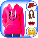 Women Sweatshirt Photo Maker