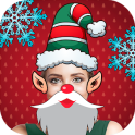 Christmas stickers face filters