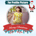 Christmas profile photo frames