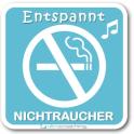 Entspannt Nichtraucher