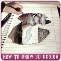 How to Draw 3D Design - 3D Design Step By Step