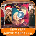 New Year Movie Maker 2019 - Photo Video Slideshow