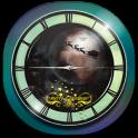 3D Christmas Analog Clock