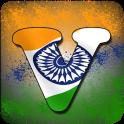 Indian Flag Latter Wallpaper