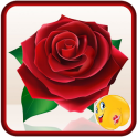 Love Rose Stickers