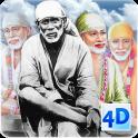 4D Sai Baba Live Wallpaper