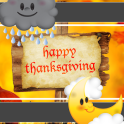 Thanksgiving Day Clock Weather
