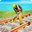 Train Track Construction Free