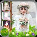 Hijab Beauty Flower Crown