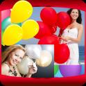 Balloons Photo Collage