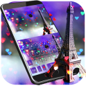 Eiffel tower Keyboard Theme