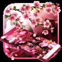 Pink Cherry Blossom Theme