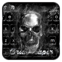 Skull Grim Reaper Keyboard