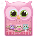 Cute owl keyboard
