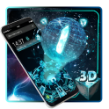 3D Neon Technology theme