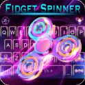 Fidget Spindle Keyboard 3D Theme