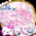 Kitten pink diamonds sweet princess theme