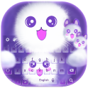 Cute Kitty Kawaii-Keyboard