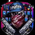 Graffiti Skull Keyboard Theme