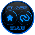 Flat Black and Blue Icon Pack ✨Free✨