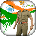Republic Day Police photo Suit : Photo Editor