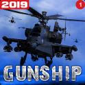 Helicopter Simulator 3D Gunship Battle Air Attack