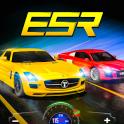carrera de carreras de autos deportivos extremos