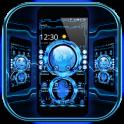 Technology Blue 3D Theme