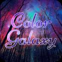 Color Galaxy Font for FlipFont , Cool Fonts Text