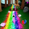 Unicorn Dash Jungle Run 3D