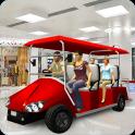 Shopping Mall Easy Taxi Driver Car Simulator Games