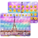Rainbow Eiffel Tower