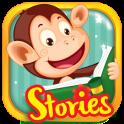 Monkey Stories: books, reading games for kids