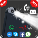 Flash on call and sms, flashlight alerts & notify