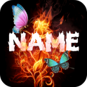 Fire Effect Name Art Maker