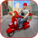 Offroad MotorBike Lunch Delivery:Virtual Game 2020
