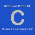 350+ C Programming Examples