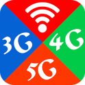 Wifi, 5G, 4G, 3G Auto Swift - Speed check