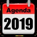 Agenda 2019 Calendario Laboral España