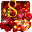 March 8 Roses Live wallpaper