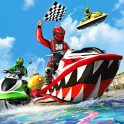 Water Jet Ski Boat Racing 3D