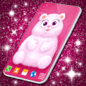 Cute Fluffy Live Wallpaper ❤️ Hearts Wallpapers