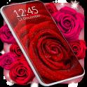 Red Rose Live Wallpaper HQ Background Changer