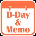 D-Day Counter & Memo Widget